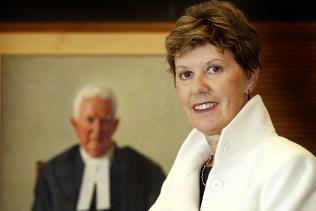 Australian Family Court Chief Justice Diana Bryant
