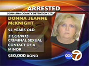 Donna McKnight - Female Sex offender