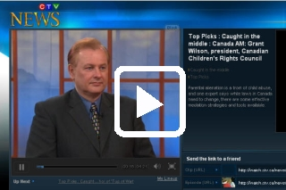 Grant Wilson , President Canadian Children's Rights Council on Parental Alienation - CTV Canada AM