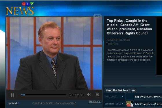 Canada AM Clip Parental Alienation