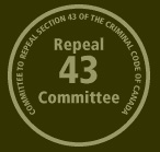 Repeal 43 logo