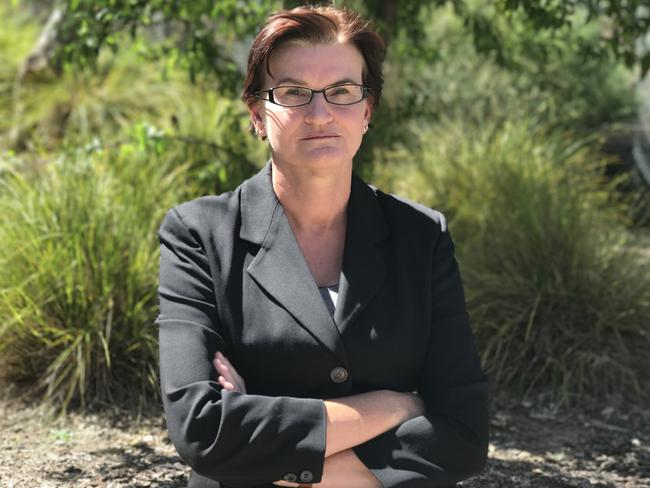 University of Canberra researcher Lucetta Thomas has interviewed dozens of men who have been sexually abused by their mothers. Picture: Ginger Gorman