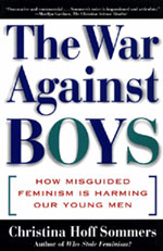 War Against Boys Book-Gender Bias Misandry